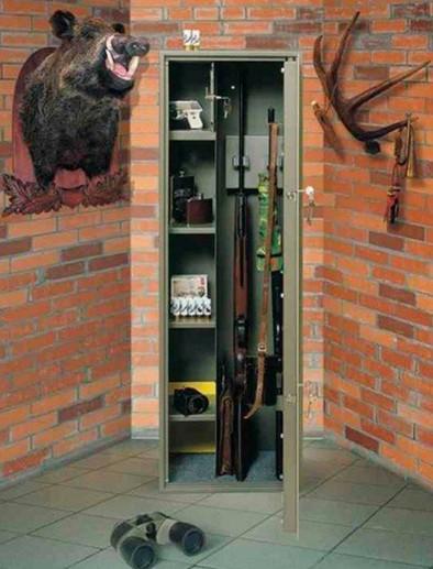сейфы для хранения охотничьего оружия