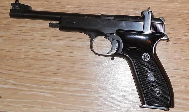 спортивный пистолет марголина