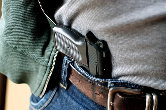 правила ношения оружие самообороны