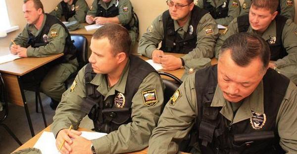 обучение охранников