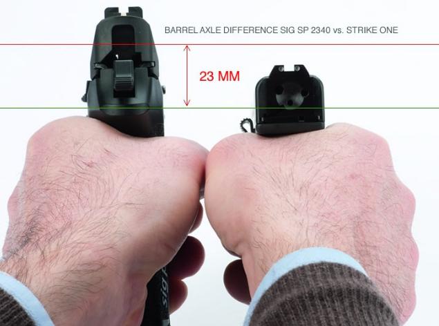 сравнение пистолета стриж с другими